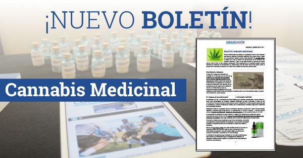 Boletín Edición N°1  – Cannabis Medicinal