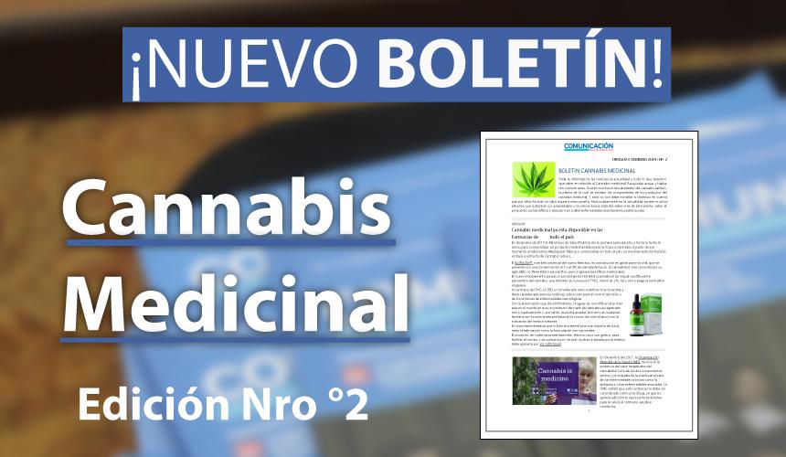 Boletín Edición N°2 – Cannabis Medicinal